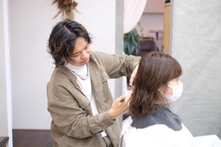 美容師をしていて楽しい事や大変だと思う事はありますか?